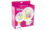 """Kindergeschirr-Set 3tlg: Teller, Schale, Tasse """"Disney Prinzessinnen"""""""