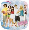 "Teller  ""High School Musical"" 22 x 22 cm"