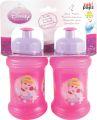 """Sport Trinkflaschen 2-er Pack """"Disney Prinzessinnen"""" 250 ml"""