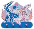 """Dekorative Hakenleiste aus Schaumstoff mit 4 Haken  """"Pokemon"""""""