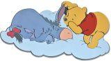 """Wandfigur groß 51 cm Schaumstoff  """"Winnie Puuh Bedtime"""""""