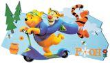 "Wandfigur groß  49 cm Schaumstoff  ""Winnie Puuh"" My friends Tigger & Puuh"