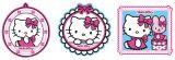 """Wandfiguren 3-tlg. Schaumstoff  """"Hello Kitty"""""""