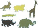 "Mini Tierfiguren 24-tlg. Schaumstoff  ""National Geographic"