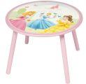"""Stabiler Kindertisch aus Holz  """"Prinzessinnen""""  rund 60 cm"""