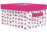 Aufbewahrungsbox mit Deckel  Hello Kitty  33 cm x 28 cm