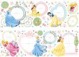 """Wandsticker 75 tlg mit Fotorahmen-Sticker """"Disney Prinzessinnen """""""