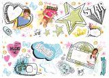 """neue Idee: Wandsticker 47 tlg mit Fotorahmen-Sticker """" High School Musical"""""""