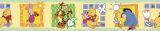 "Tapetenbordüre  10,6  cm, 5 m selbstklebend  ""Winnie Puuh  Friends"""