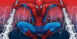 "Tapetenbordüre  15,9 cm , 5 m  selbstklebend ""The Amazing Spiderman"""