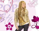 "Tapetenbordüre  15,9 cm , 5 m  selbstklebend ""Hannah Montana"""
