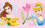 "Tapetenbordüre 10,6 cm, 5 m selbstklebend  ""Disney Prinzessinnen"""