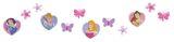 "Mini Wandfiguren  24-tlg., Schaumstoff,  ""Disney Prinzessinnen"""