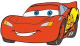 "Wandfigur groß  50 cm, Schaumstoff , ""Cars"""