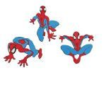 Wandfiguren-Set 3-tlg. Spiderman