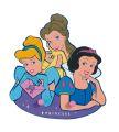 "Kleiderhakenleiste 2 Haken  ""Disney Prinzessinnen"""