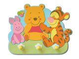 """Dekorative Hakenleiste  mit 3 Haken  """"Winnie Puuh Baby"""""""