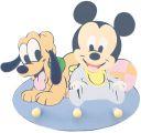 """Dekorative Hakenleiste mit 3 Haken  """"Mickey Maus Babys"""""""