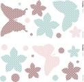 Wandtattoos Schmetterlinge  38  x 31 cm selbstklebend