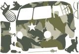 Wandtattos Camper   70 x 100 cm selbstklebend  Sonderpreis !