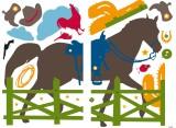 """Wandtattos """"Ranch""""  140 x 100 cm selbstklebend"""